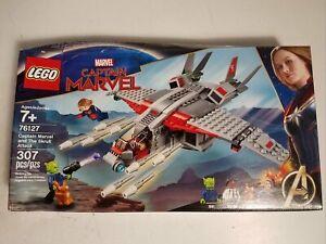 Lego Captain Marvel & The Skrull Attack 76127