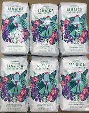 6 PACK STARBUCKS JAMAICA HIGH MOUNTAIN WHOLE BEAN COFFEE 8.8 OZ EACH BB 7/20
