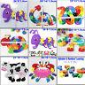 26Pcs 3D Puzzle Jigsaw Alphabet Letter Number Blocks Kids Wooden Educational Toy