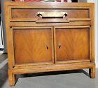 1960s+MCM+Fancher+Nightstand+w%2Fdrawer%2C+cabinet+brass+hardware+GREAT+CONDITION%21