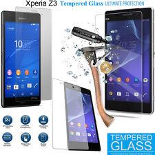 For Sony Xperia Z3 Tempered Glass Screen Protector 9H Anti Scratch Premium Guard