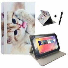 "10 inch Case Cover Book For Alba Tablet - 10"" Cat Kitten 2"
