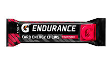 Gatorade Endurance Carb Energy Chews Fruit Punch (Pack of 21)