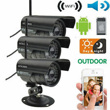 3X Sricam Outdoor Wireless Wifi Security Webcam IR IP P2P Camera Android System