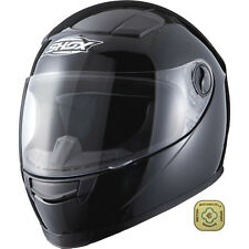 Shox Sniper Solid L Gloss Black Motorcycle Helmet Full Face Bike Scooter Seconds