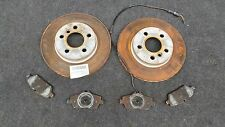 BMW i3 I01 60Ah Bremse vorne Bremsscheibe / Front axle break disc 9257km 6866293