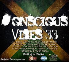CONSCIOUS VIBES VOL 33 REGGAE ROOTS CULTURE LOVERS ROCK MIX CD