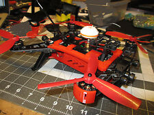 Walkera Runner 250 Drone Upper Frame Support & Motor Guard Combo 3D Printed Part