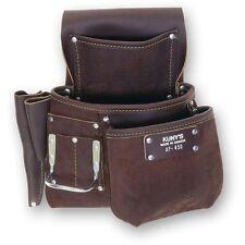 KUNYS Journeyman Full Grain Waterproof Leather Tool Belt Pouch AP450  AP-450