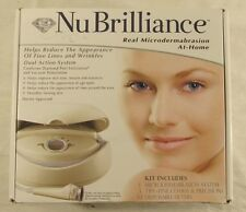 NuBrilliance Professional Home Microdermabrasion AntiAging Skin Face Care Kit