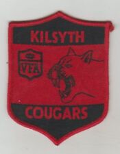 VFA  TEAM ** KILSYTH / THE  COUGARS  ** SEW ON PATCH / BADGE
