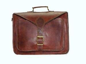 New Seprate Genuine Leather Vintage Messenger Shoulder Satchel Crossbody Bag
