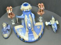 Star Wars Clone Wars Trade Federation Separatist Tank & Speeder Parts Lot AAT