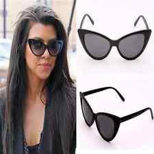 Womens Vintage Cat Eye Sunglasses Retro Classic Fashion Shades Sexy Designer