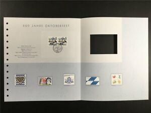 GERMANY ART-EDITION 2010/31 MÜNCHEN OKTOBERFEST MUNICH UNISSUED DESIGNS!!