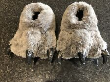 Used Monster Foot Slippers, Approximate Size 6-7 UK