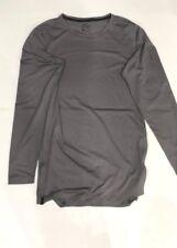 Nike Utility Long Sleeve Dry FitTraining Shirt Grey Aa1587-036