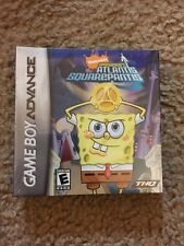 SpongeBob's Atlantis SquarePantis (Nintendo Game Boy Advance, 2007) Brand New
