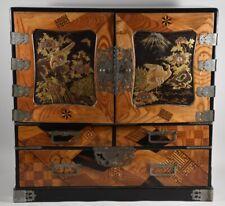k36f12- Japan Kabinett Schränkchen um 1900/ 20