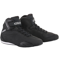 Alpinestars Sektor Motorcycle Motorbike Shoes - Black (10)