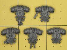Warhammer 40K marines espaciales Gris Caballeros Marine mochilas