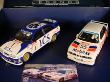 Scalextric Legends Ford Sierra RS500 #1 Rouse & BMW E30 #55 Sytner C3693A MB
