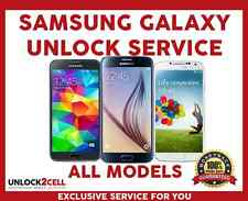 Bell Virgin Samsung Unlock Code Galaxy S8 S7 S6 S5 S4 S3 Note 5 4 3 Alpha Core