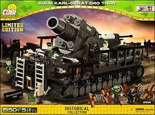 COBI 60cm Karl-Gerat 040 Thor LIMITED EDITION (2532) - 1550 el. WW2 Siege mortar