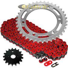 Red O-Ring Drive Chain & Sprockets Kit Fits SUZUKI TL1000S 1997 1998 1999 2000