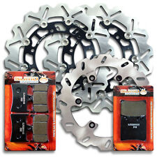 Yamaha Front + Rear Brake Disc Rotor + Pads FZ1 / FZS 1000 Fazer [2001-2005]