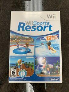Wii Sports Resort (Wii, 2009) Tested & Working CIB
