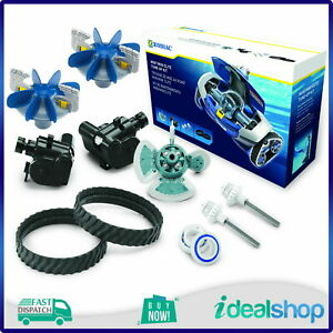 Zodiac MX8 AX10 Pool Cleaner Factory Tune-Up R0682000 Cyclonic Scrubber Upgrade