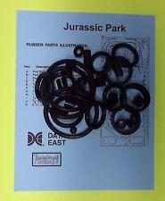1993 Data East Jurassic Park pinball rubber ring kit JP