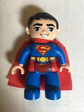 Lego Duplo  Replacement Figure Super Man With Cape