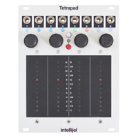 Intellijel Tetrapad Multi-Dimensional Touch Sensitive Controller Eurorack Module