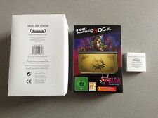 New 3DS XL Legend of Zelda Majora's Mask + Skull Kid + Presse Papier = NEUF