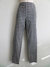 Atmosphere Black and White Print Leggings with Side Zip - Size 10 - BNWOT