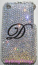Crystal INITIAL Rhinestone Bling Back Case for iPhone 5 with Swarovski Elements