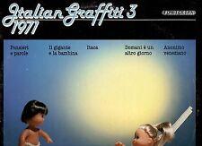 ITALIAN GRAFFITI 3 1971 PATTY PRAVO AUGUSTO MARTELLI LUCIO BATTISTI DELIRIUM RON
