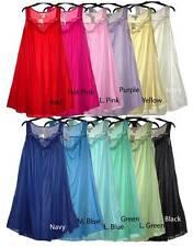 Embroidery satin lace sleeveless womens nightgown sleepwear #9006- M L XL 2X 3X