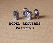 P&D Marsh Oo Gauge Pw250 Dustbins (8) castings require painting