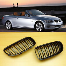For BMW E92 LCI Coupe E93 Convertible Front Grille Shiny Black M4 Look