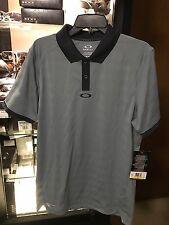 Brand New Oakley Hydrolix  Lead Thomas Polo Golf Shirt 433157 Size Medium M $75