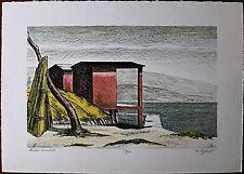 BARTOLINI SIGFRIDO litografia Marina Incantata 50x70 firmata numerata 1972
