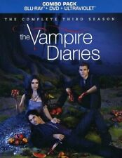 The Vampire Diaries Third Season  UV+Blu-ray FREE Postage mmoetwil@hotmail.com