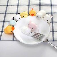 Mochi Soft Animal Squishy Squeeze Healing Fun Kids Kawaii Toy Stress Reliever