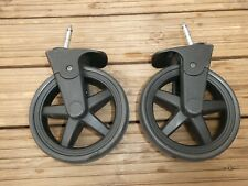 Babylo Panorama 2X FRONT WHEELS fits mathercare Journey 4 wheeler chassis