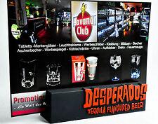 Desperados Bier, Aufsteller, 3D-Tischaufsteller, Speisekartenaufsteller