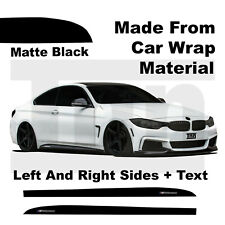 Side Skirt Stickers For BMW F32 F33 F36 4 series M Performance Vinyl Wrap Decals