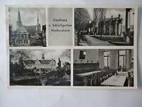 Ansichtskarte Weikersheim Gasthaus z. Schloßgarten (Nr.589)